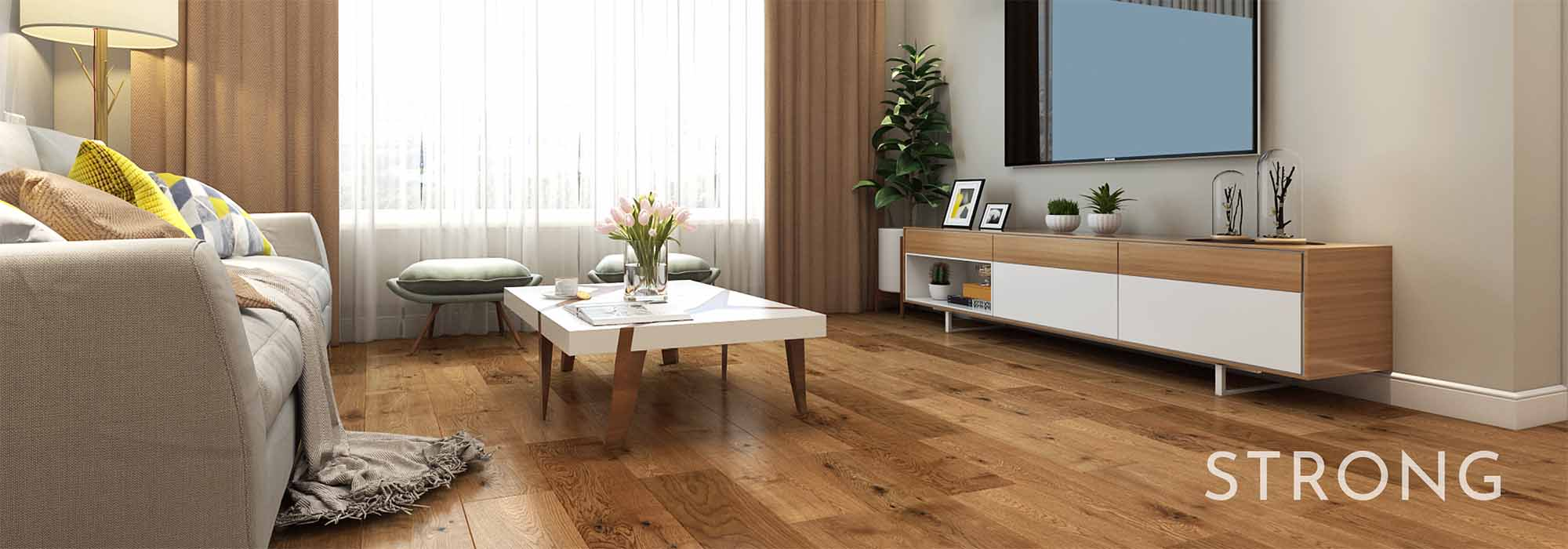 Calgary Canada Flooring Supplier | Natural Wood Flooring | Strong