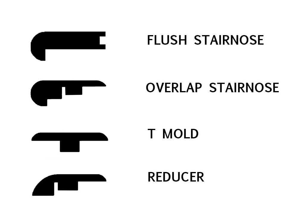 Stairnose T Mold Reducer